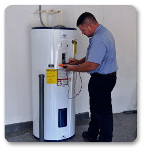 Why is your Kenmore Power Miser 8 Hot Water Heater Leaking from